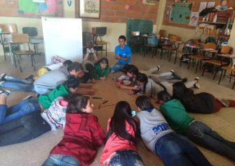 Proceso formativo con niñas(os) y jóvenes vereda Colmenas 2018